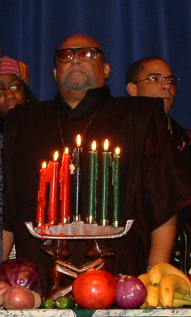 Ron Karenga - Creator of Kwanzaa