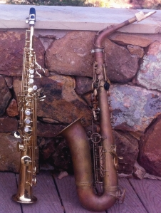 two-saxes